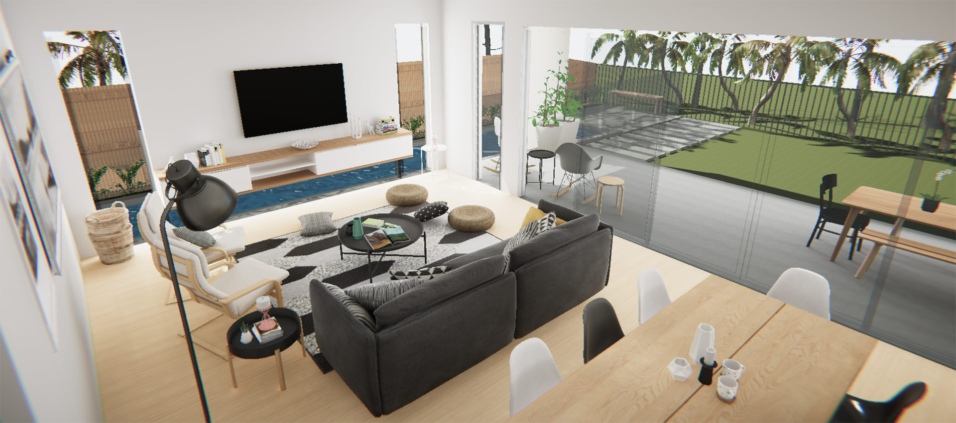 Photorealistic 3D Renderings and full-blown Immersive Experiences.