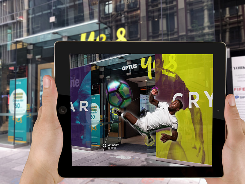 branding retail augmented reality digital strategy sydney developer