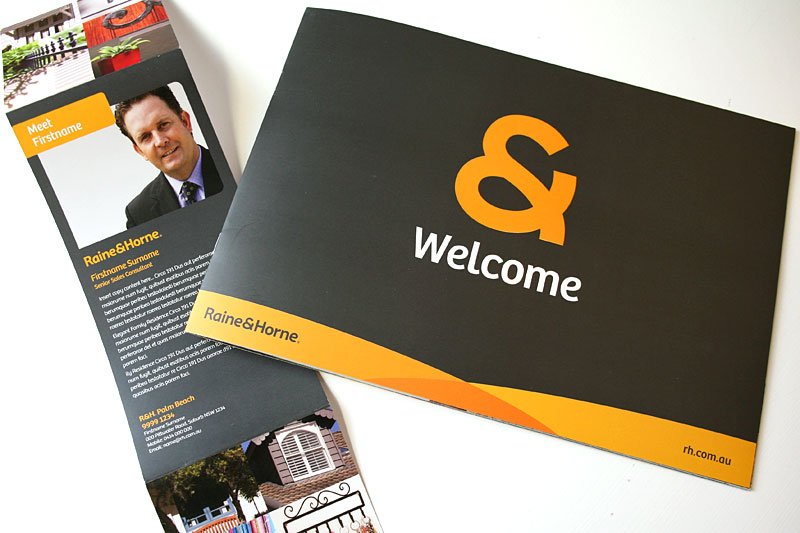 Property advertising, Brochure design branding creative agency brisbane sunshine coast
